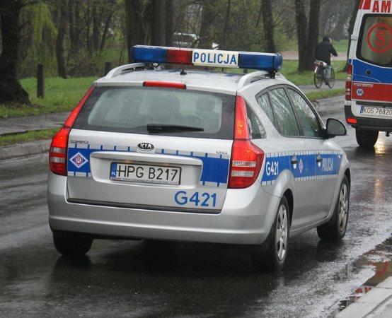Policja Zielona Góra: Policjanci zabezpieczali pierwszy mecz żużlowy w sezonie